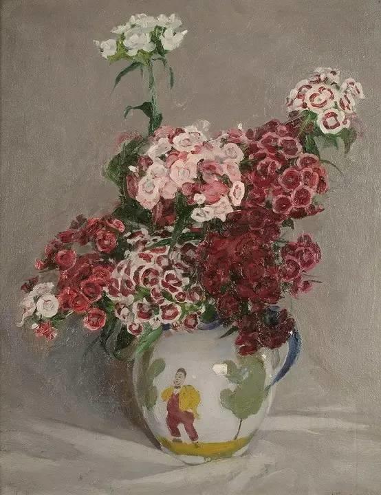 完美的色调,经典花卉作品75幅插图87