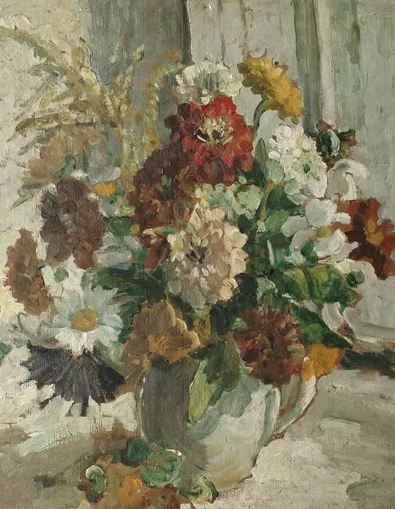 完美的色调,经典花卉作品75幅插图91