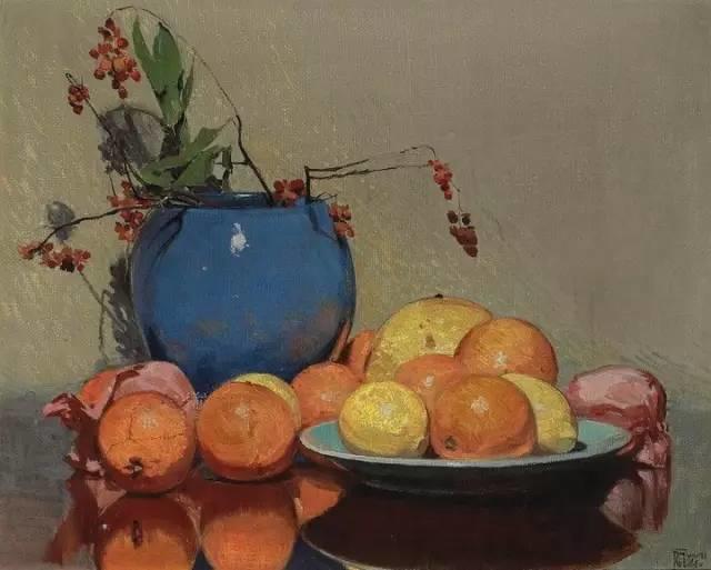 完美的色调,经典花卉作品75幅插图93