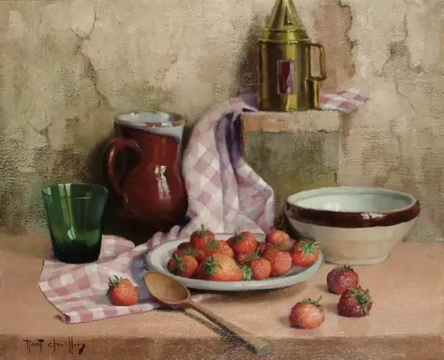 完美的色调,经典花卉作品75幅插图97