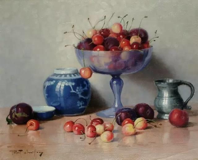 完美的色调,经典花卉作品75幅插图99