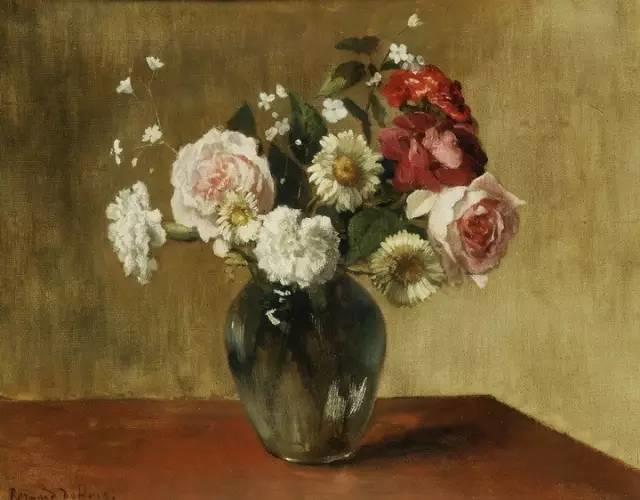完美的色调,经典花卉作品75幅插图105