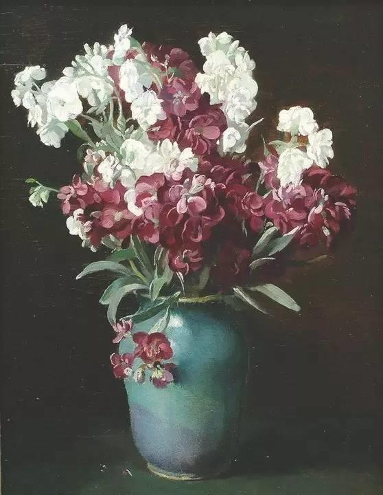 完美的色调,经典花卉作品75幅插图107