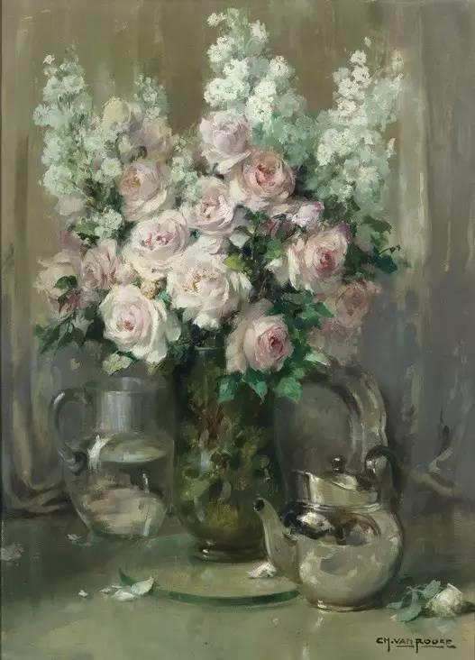 完美的色调,经典花卉作品75幅插图109