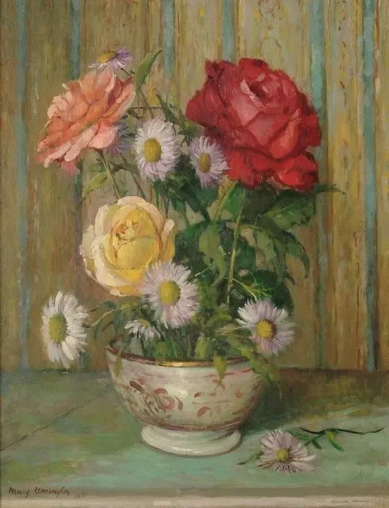完美的色调,经典花卉作品75幅插图111
