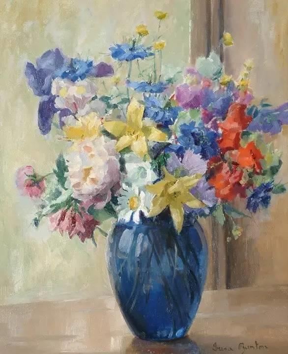 完美的色调,经典花卉作品75幅插图113