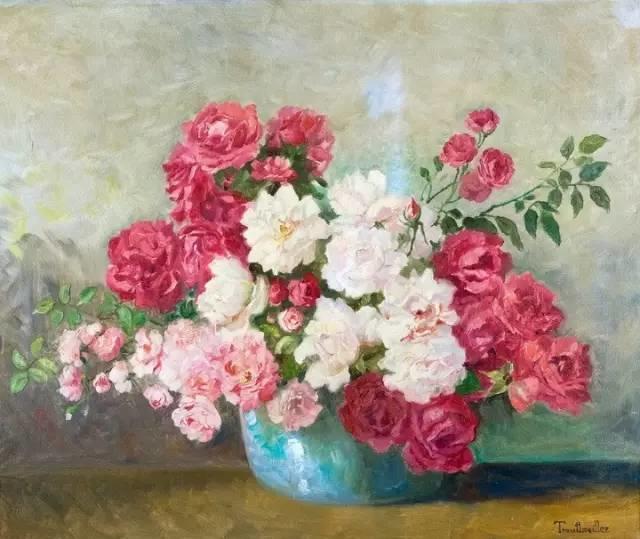 完美的色调,经典花卉作品75幅插图115