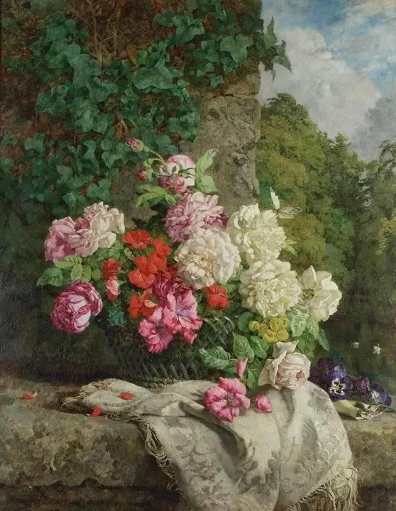 完美的色调,经典花卉作品75幅插图117