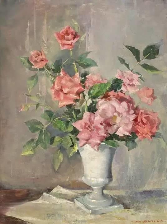 完美的色调,经典花卉作品75幅插图121