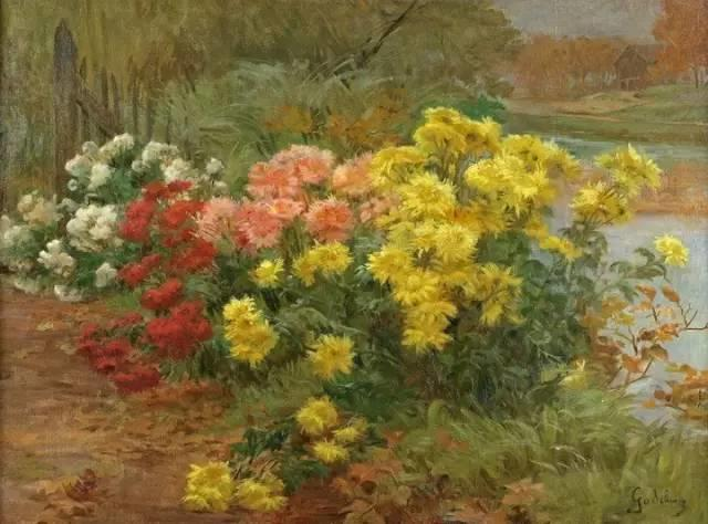 完美的色调,经典花卉作品75幅插图123