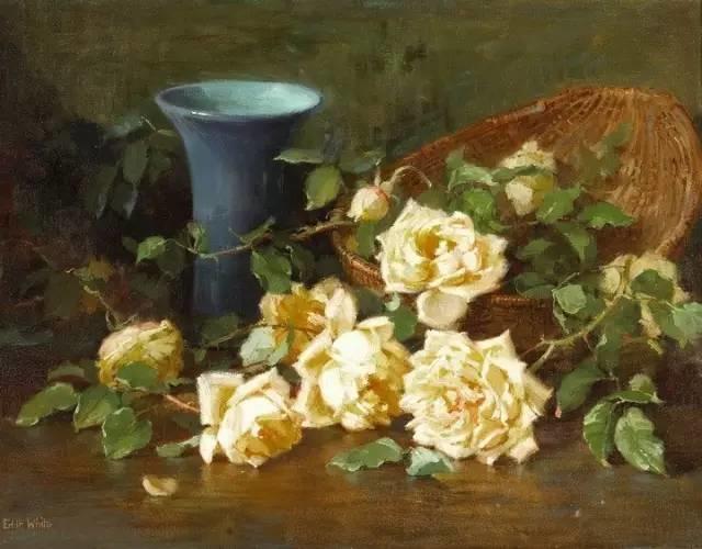 完美的色调,经典花卉作品75幅插图125