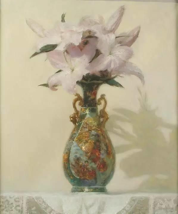 完美的色调,经典花卉作品75幅插图129