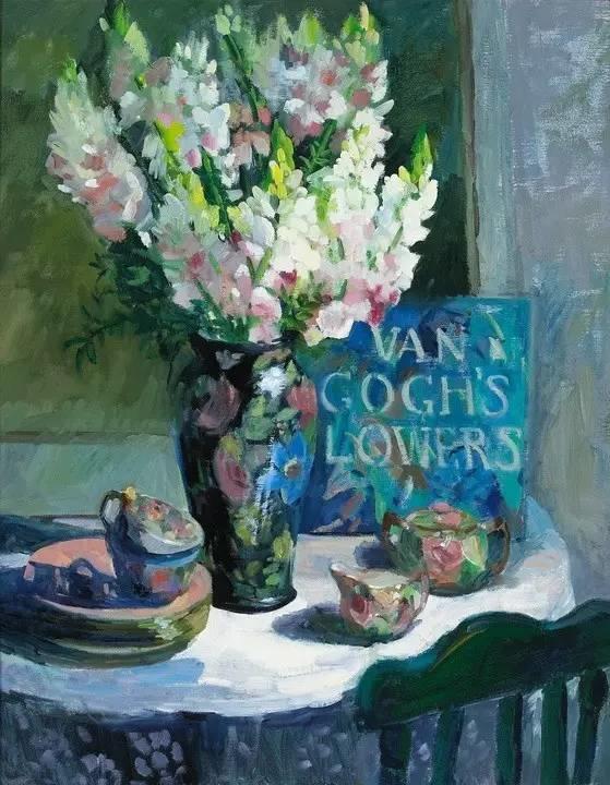 完美的色调,经典花卉作品75幅插图131