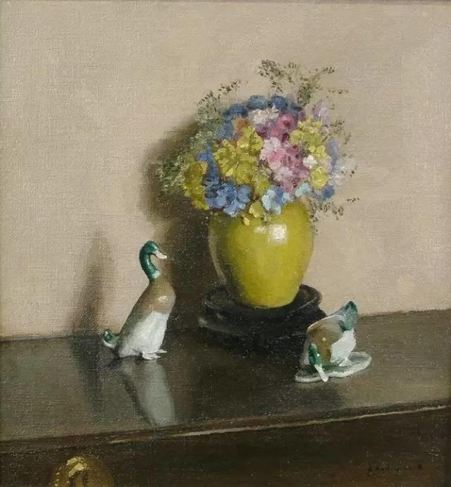 完美的色调,经典花卉作品75幅插图133