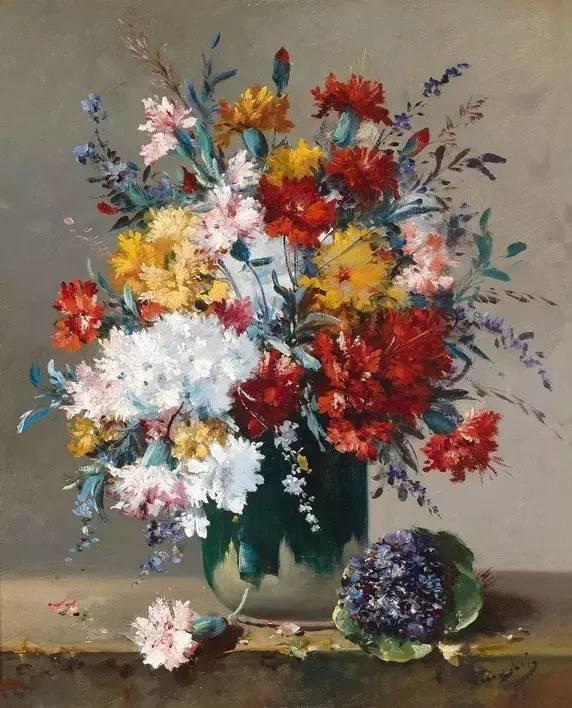完美的色调,经典花卉作品75幅插图135