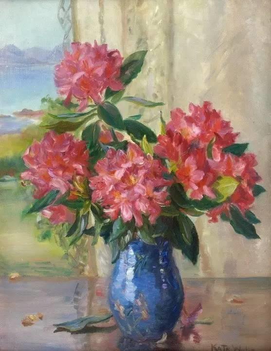 完美的色调,经典花卉作品75幅插图137
