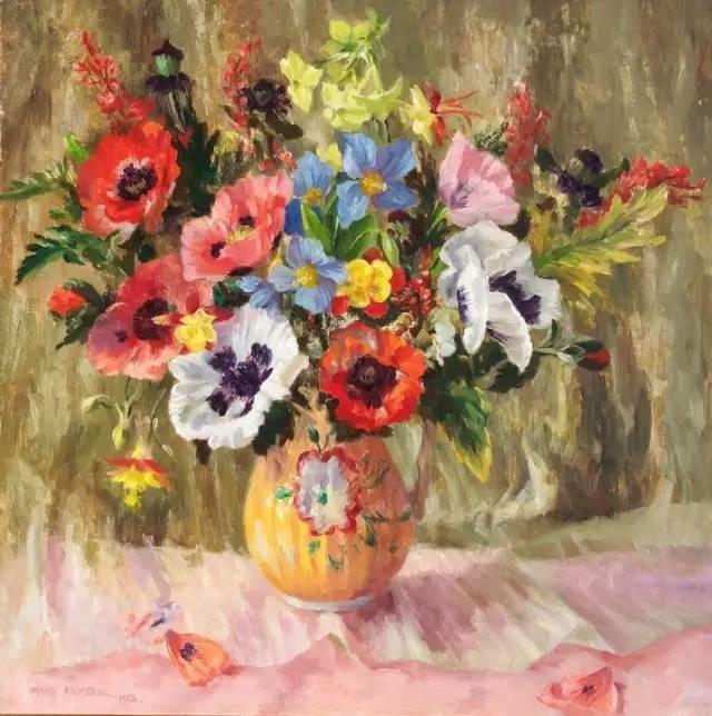 完美的色调,经典花卉作品75幅插图139