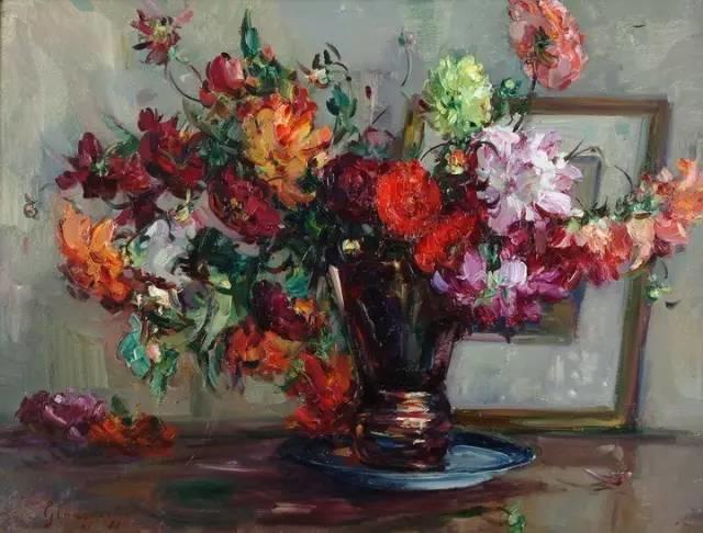 完美的色调,经典花卉作品75幅插图141