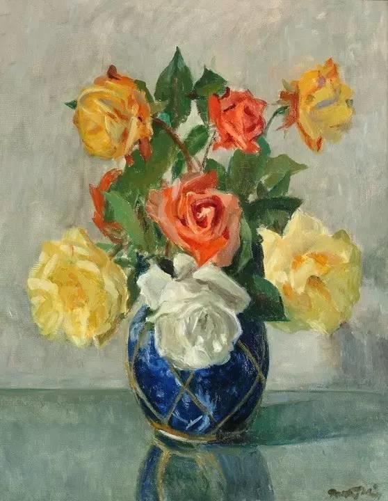 完美的色调,经典花卉作品75幅插图145
