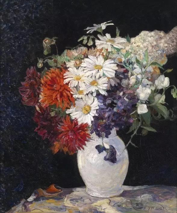 完美的色调,经典花卉作品75幅插图147