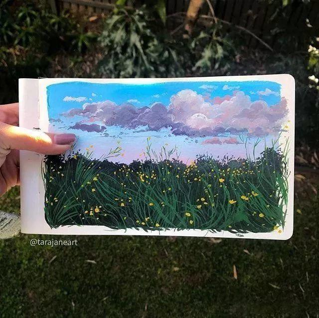 速写本里的美腻风景,看完仿佛置身于自然美丽的大森林插图39