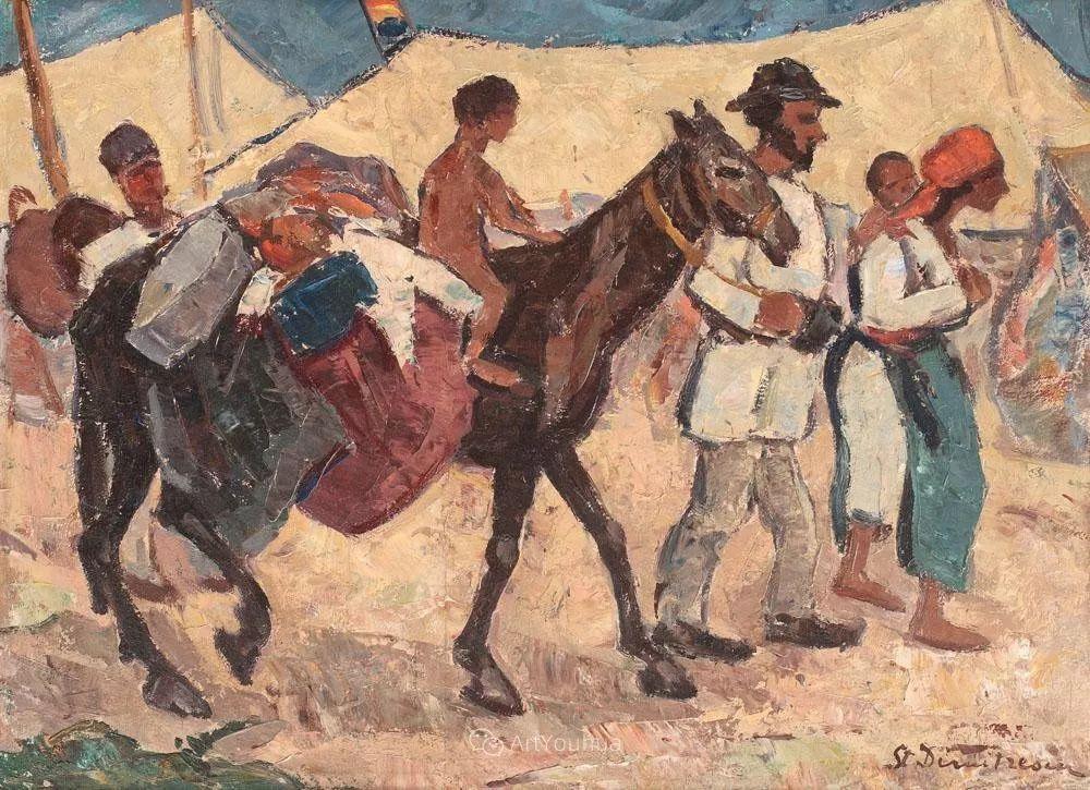 罗马尼亚美术协会的创始人之一——斯蒂芬·迪米特雷斯库插图25