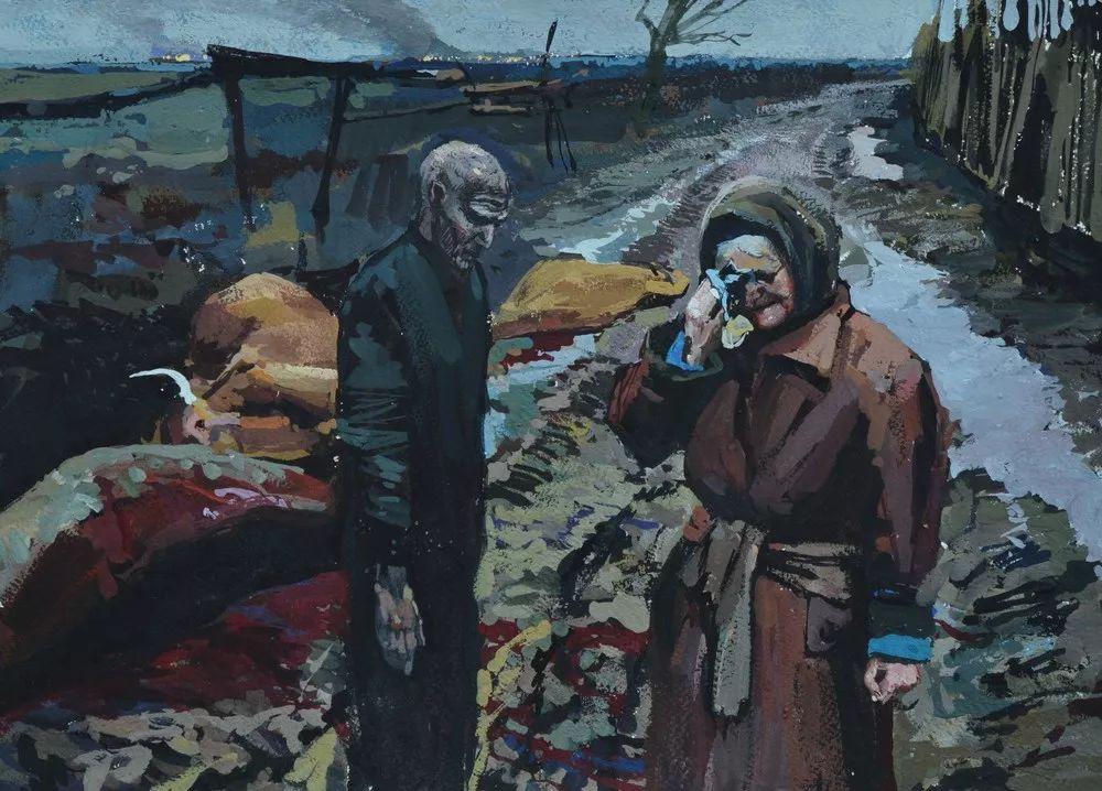 浓郁的色彩,俄罗斯艺术家帖木儿·阿赫列耶夫插图25