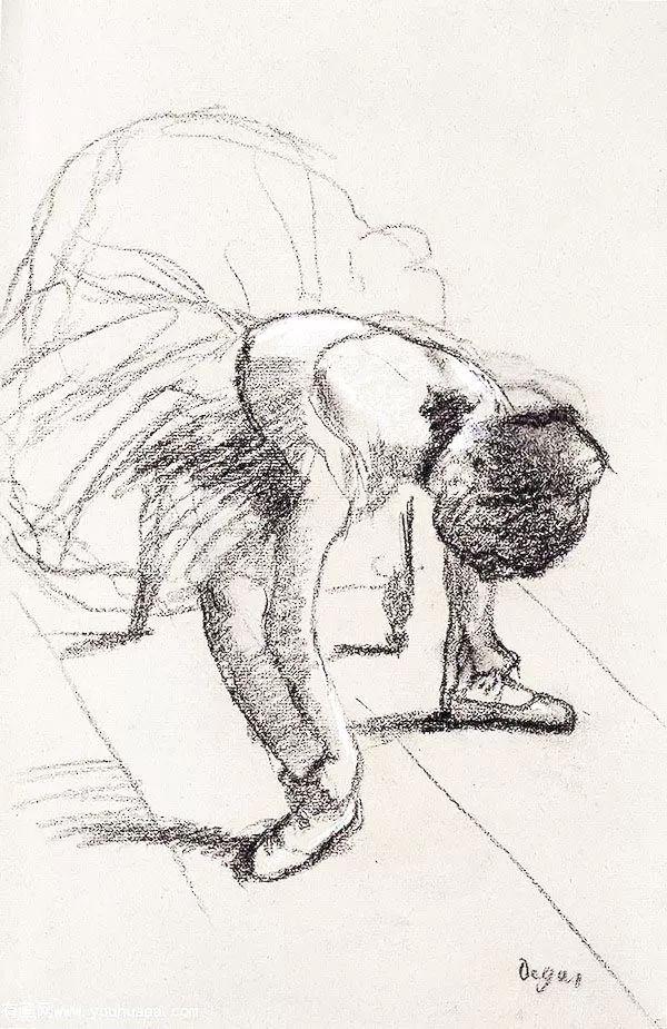 德加绘画作品集,震撼出炉!插图259