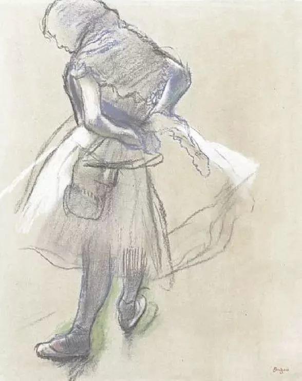 德加绘画作品集,震撼出炉!插图261
