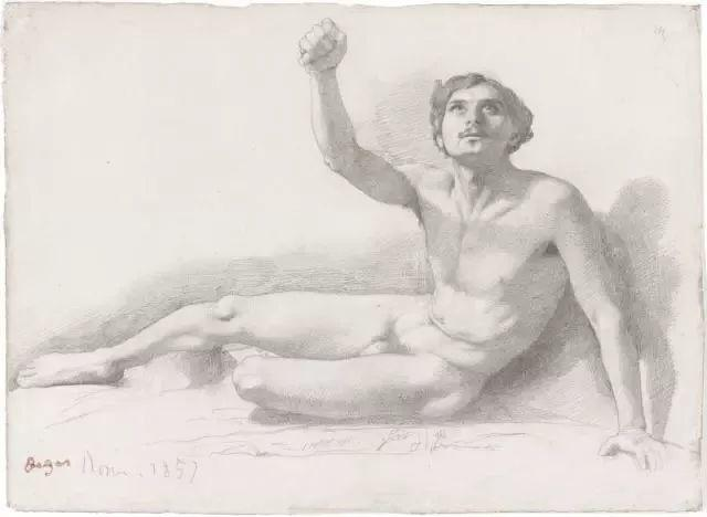 德加绘画作品集,震撼出炉!插图269
