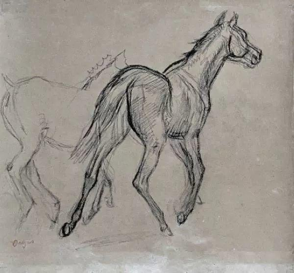 德加绘画作品集,震撼出炉!插图293