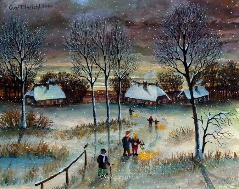 天真充满奇观的世界,德国画家Olaf Ulbricht插图1
