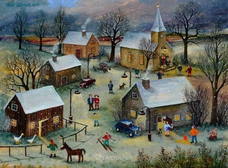 天真充满奇观的世界,德国画家Olaf Ulbricht插图7