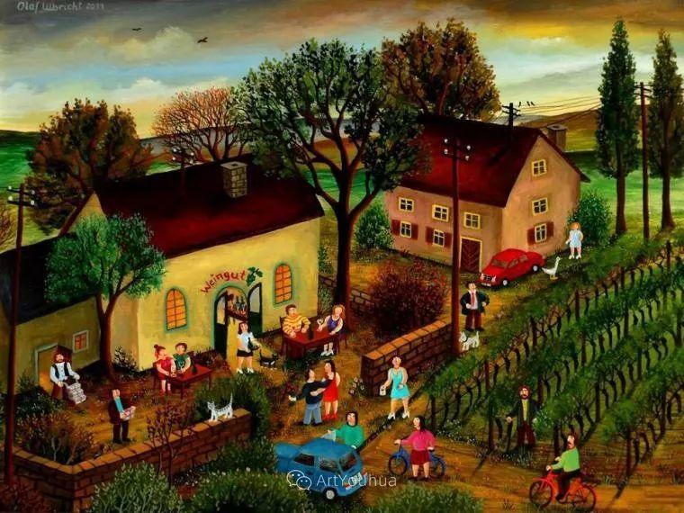 天真充满奇观的世界,德国画家Olaf Ulbricht插图14