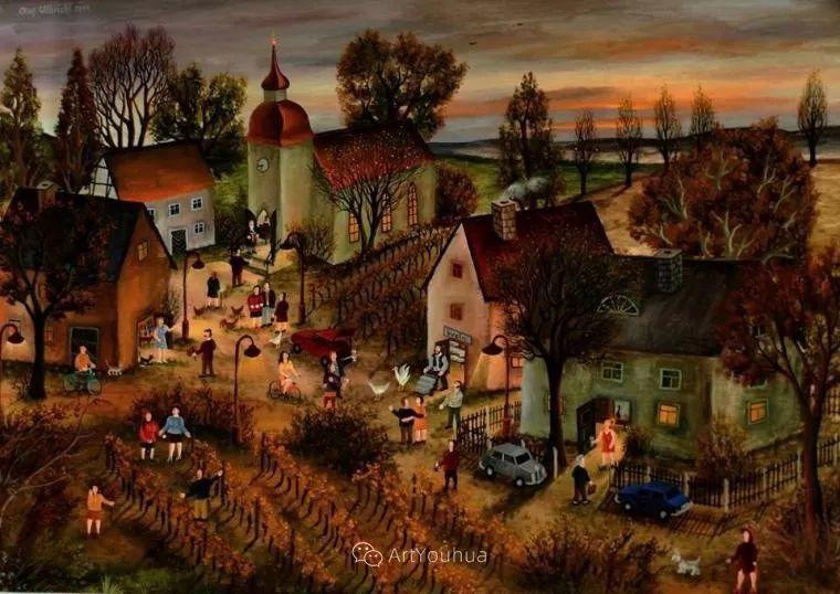 天真充满奇观的世界,德国画家Olaf Ulbricht插图15