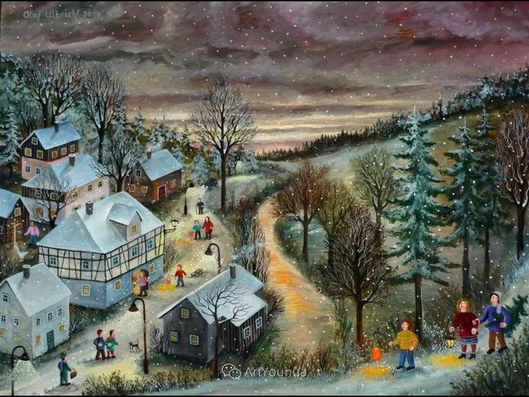 天真充满奇观的世界,德国画家Olaf Ulbricht插图16