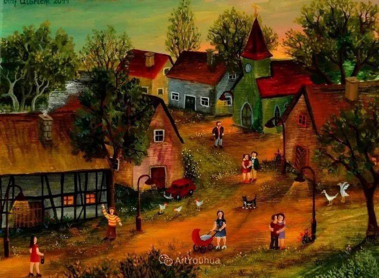 天真充满奇观的世界,德国画家Olaf Ulbricht插图19