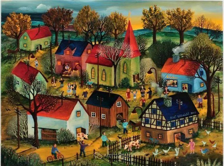 天真充满奇观的世界,德国画家Olaf Ulbricht插图20