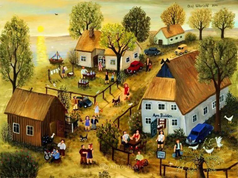 天真充满奇观的世界,德国画家Olaf Ulbricht插图21