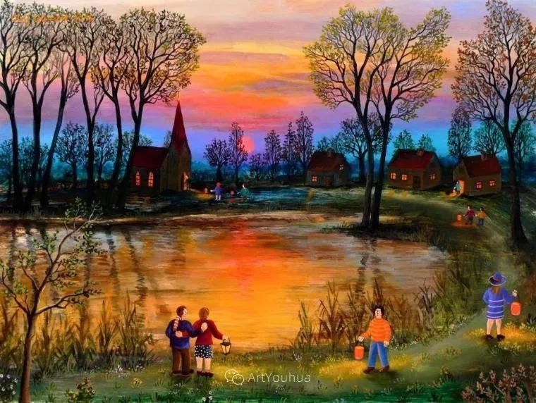 天真充满奇观的世界,德国画家Olaf Ulbricht插图22