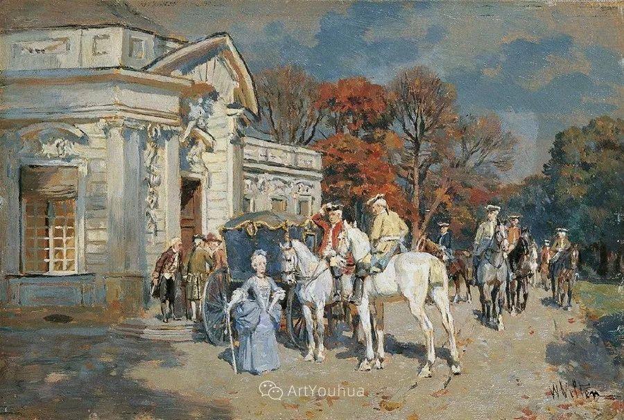 俄罗斯艺术家Wilhelm Velten(1847-1929)插图9