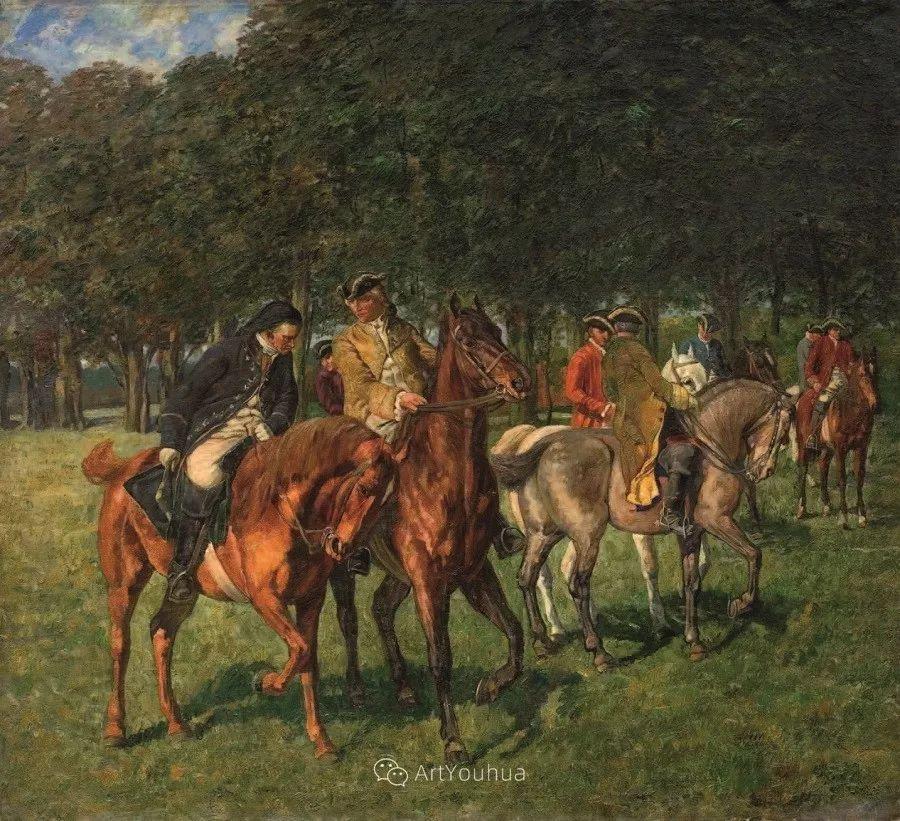 俄罗斯艺术家Wilhelm Velten(1847-1929)插图13