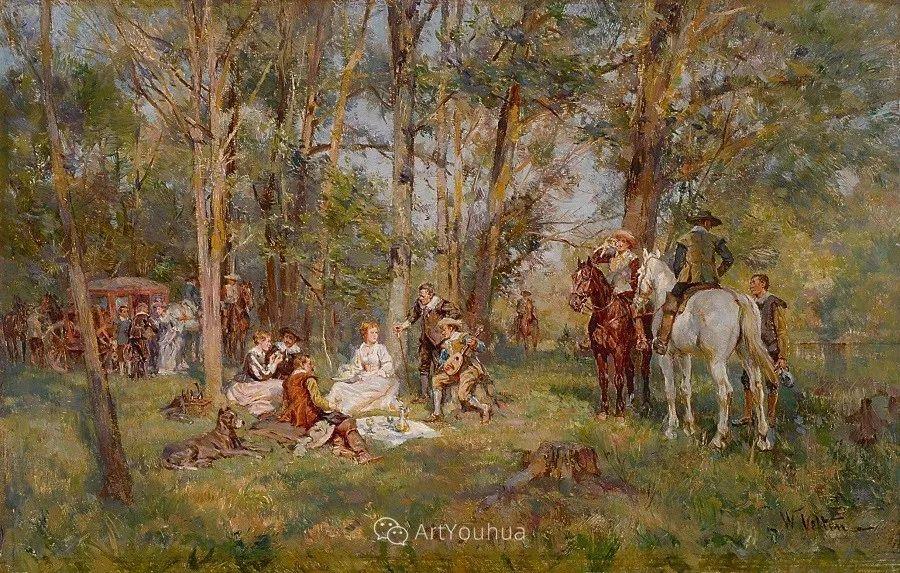 俄罗斯艺术家Wilhelm Velten(1847-1929)插图15