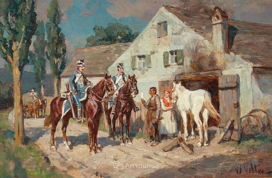 俄罗斯艺术家Wilhelm Velten(1847-1929)插图17