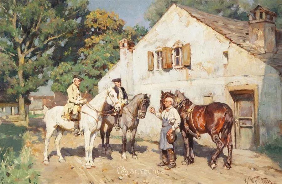 俄罗斯艺术家Wilhelm Velten(1847-1929)插图23