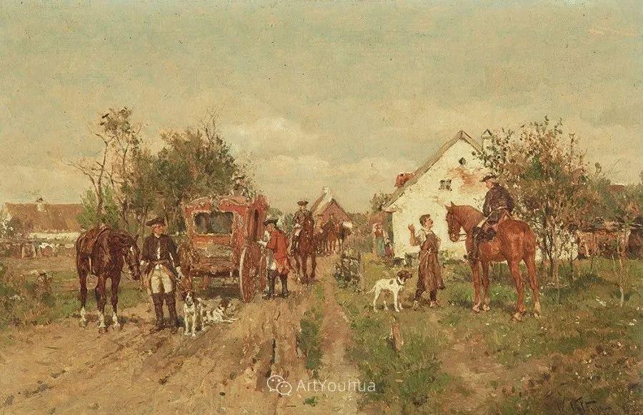 俄罗斯艺术家Wilhelm Velten(1847-1929)插图25