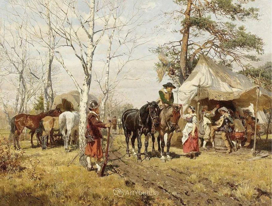 俄罗斯艺术家Wilhelm Velten(1847-1929)插图27