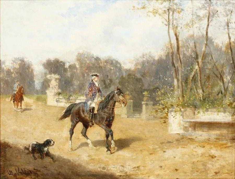 俄罗斯艺术家Wilhelm Velten(1847-1929)插图29
