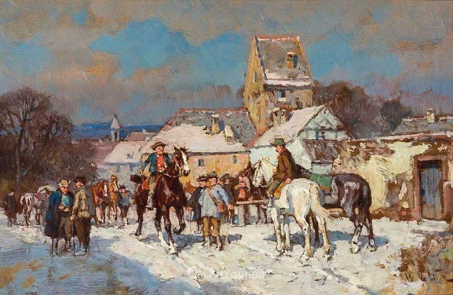 俄罗斯艺术家Wilhelm Velten(1847-1929)插图31