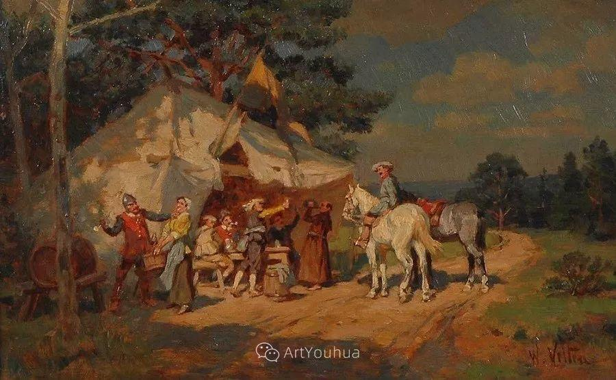 俄罗斯艺术家Wilhelm Velten(1847-1929)插图33